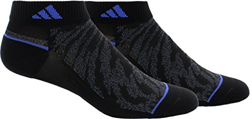 adidas Womens Superlite Prime Mesh Low Cut Socks (2-Pack), Blue, Size 5-10