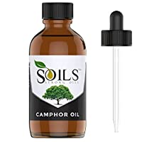 Strong Oils 100% Pure Camphor Essential Oil 4 Oz (118 Ml) Therapeutic Grade