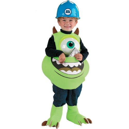 Mike Candy Catcher Costume - Toddler Large by Disguise - Mike Wazowski Baby Halloween Costume