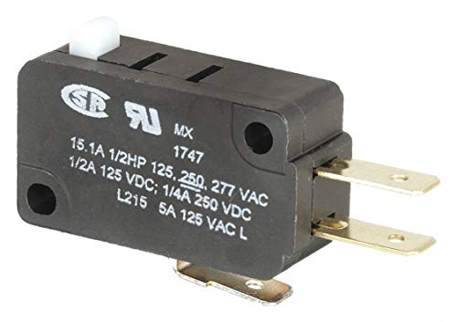 15 Amp 3//4 HP 125 250 VAC Snap Action Switch