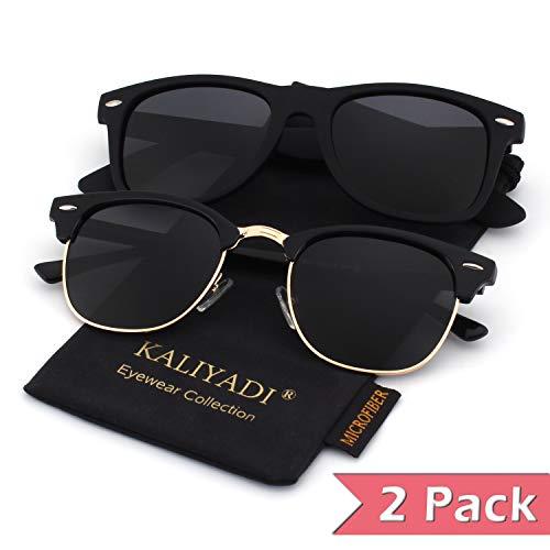 - Unisex Polarized Retro Classic Trendy Stylish Sunglasses for Men Women Driving Sun glasses:100% UV Blocking