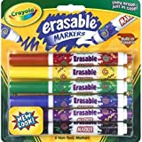 : Crayola Erasable Art Markers, 6 Assorted Classic Color Markers Per Pack (BIN588164) Category: Art Markers