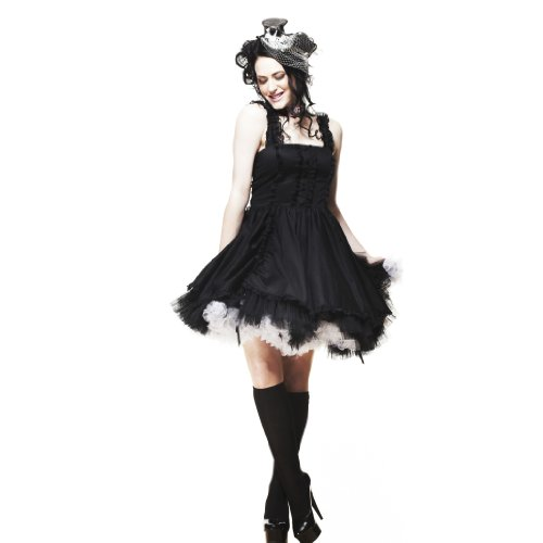 Claro WENDI ropaque de conejo vestido Colour negro - Colour negro negro