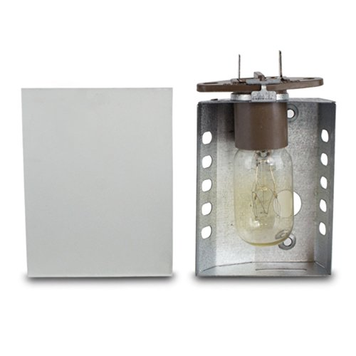 Ronco Inventions Ronco Showtime Rotisserie 3000 Light Assembly Replacement With Glass Cover