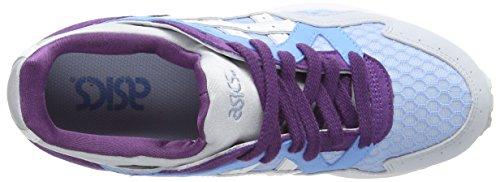 ASICS - Gel-Lyte V, Sneakers Basse da donna, blu (light blue/white 4101), 43.5