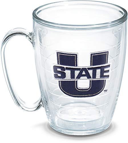 (Tervis Utah State University Emblem Individual Mug, 16 oz, Clear - 1091992)