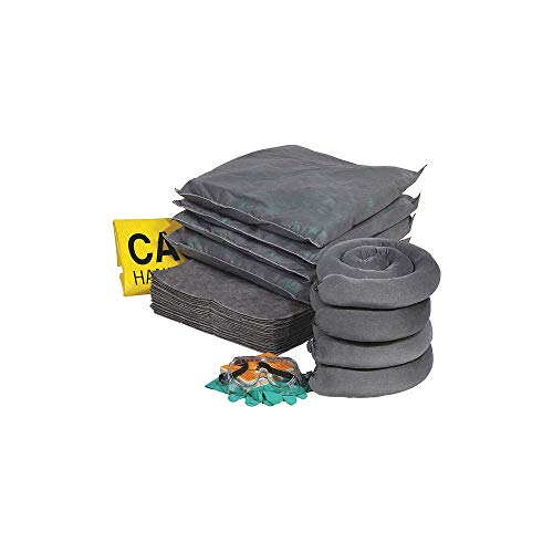 30 Gallon Spill Kit - SpillTech RSPKU-30 47 Piece Universal 30 gallon Spill Refill Kit
