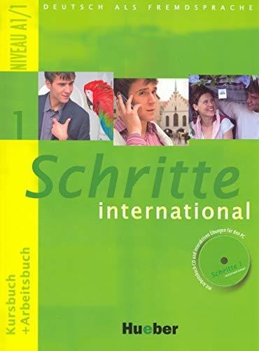 Schritte international 1 (Kursbuch + Arbeitsbuch mit Audio-CDs)