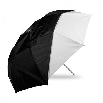 Westcott - Paraguas plegable para fotografía (109 cm, funda negra desmontable), color