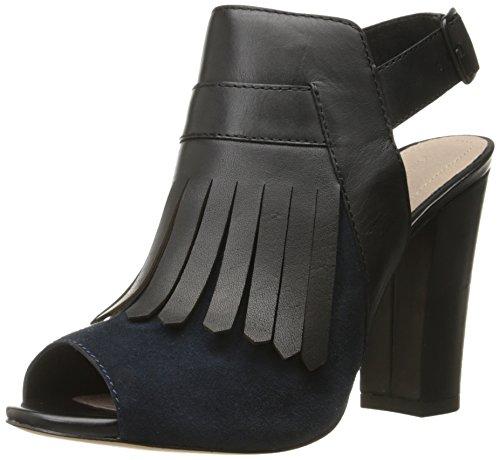 La Victoire Women's Sandal Black Elyse platform Indigo Pour 65qxAdFw46