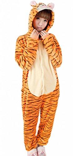 EOZY Pijamas/Disfraz De Animales Para Mujer Hombre Adulto Animales Naranja Tamaño M: Amazon.es: Juguetes y juegos