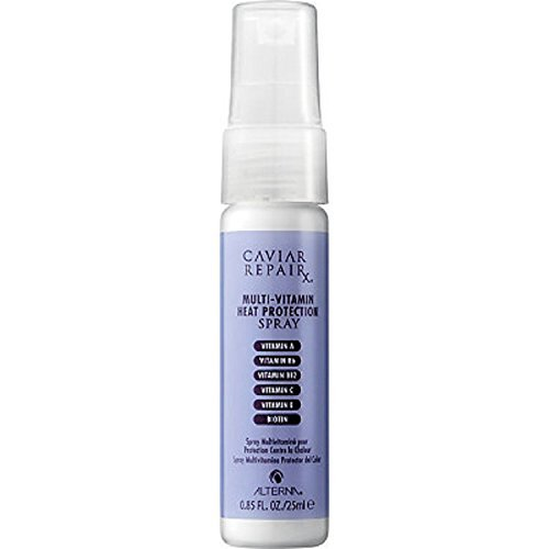 ALTERNA Haircare Caviar Repair Multi-Vitamin Heat Protection Spray, Deluxe Travel Size, .85 oz