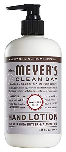 - Mrs. Meyer's Clean Day Hand Lotion, 12 oz (Pack - 3, Lavender)