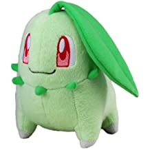"Takara Tomy Pokemon Plush Toy - 6"" Chikorita (Japanese Import)"