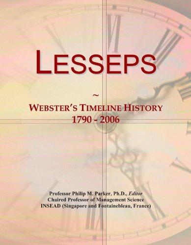 Lesseps: Webster