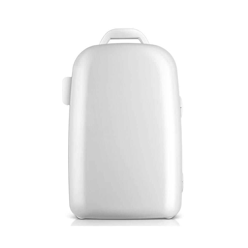 28L車の冷蔵庫の小さな家庭のシングルドア冷蔵庫の冷凍と断熱のマイクロ冷蔵庫の学生寮の多機能冷蔵庫 (Color : 白, Size : 51 * 34 * 34cm) 51*34*34cm 白 B07J4WJJLL