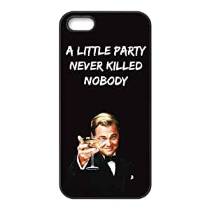 iPhone 5 5s Cell Phone Case Black Wolf Of Wall Street UFH