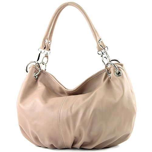 Italy a donna Borsa Dunkel Made Rosabeige spalla dqvp4pP8