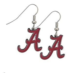 Siskiyou NCAA Alabama Crimson Tide Dangle Earrings