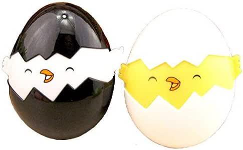 Estuche para lentes de contacto con huevo, estuche para lentes de contacto, 2 unidades, estuche para lentes de contacto con espejo: Amazon.es: Salud y cuidado personal