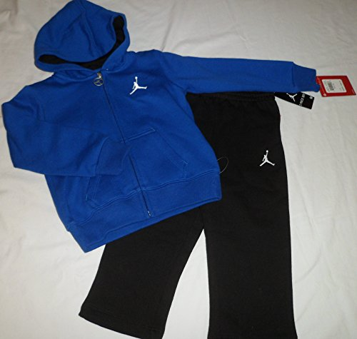 22a13a5aa69a09 Nike Air Jordan Logo Toddler Boys Sweater Hoodie Pants Outfit Set Size 3 3t  - Buy Online in UAE.