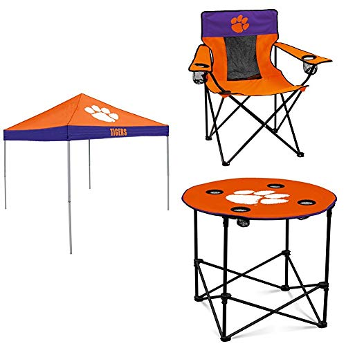 Clemson Tent, Table and Chair Package