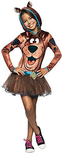 Scooby Doo Hooded Girls Costume Size Medium 8-10 -