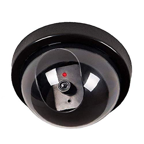 WALI Dummy Security CCTV PTZ WiFi Zoom Dome Camera with Flashing Red LED Light