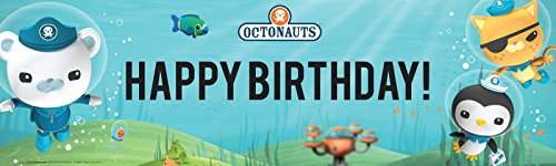 The Octonauts Party Supplies - Vinyl Birthday Banner