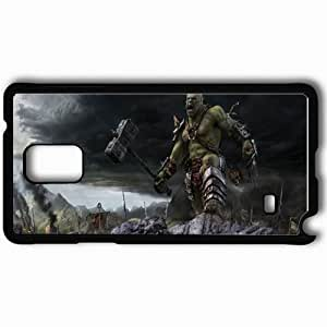 Personalized Samsung Note 4 Cell phone Case/Cover Skin Angry Giant Black