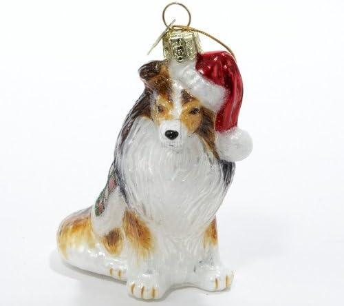 SHELTIE   ~ CHRISTMAS BALL ORNAMENT