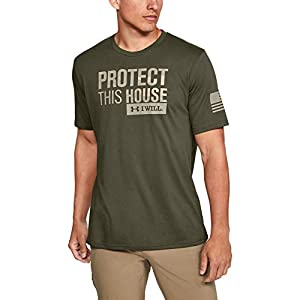 Best Epic Trends 41G7k2Is55L._SS300_ Under Armour Men's Freedom Protect This House T-Shirt