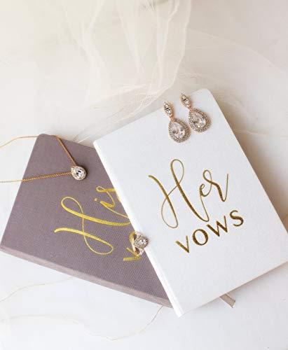 (Wedding Vow Books His and Hers Wedding Vow Books Wedding Keepsake Wedding Journal)