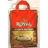 Royal Chef's Secret Extra Long Basmati Rice 20 Lb Bag