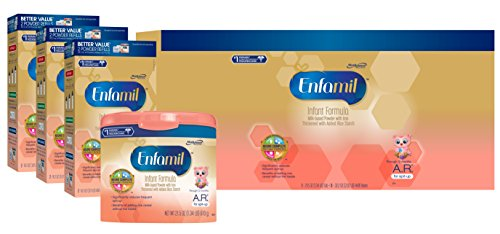 Enfamil A.R. Infant Formula for Spit Up, Powder, 118.1 Ounce by Enfamil A.R.