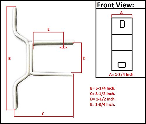 ALEKO Wall Mounting Bracket For Retractable Awnings