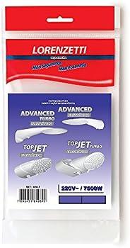 Resistência 220V 7500W Eletrônico Advanced/Top 3056F, Lorenzetti, 7589076, Metal, Pequeno