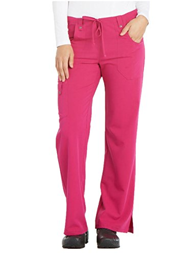 Dickies Xtreme Stretch Women's Drawstring Scrub Pant X-Small Berry by Dickies