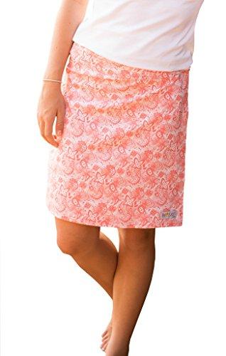 RipSkirt Style 2 Paisley Blush M