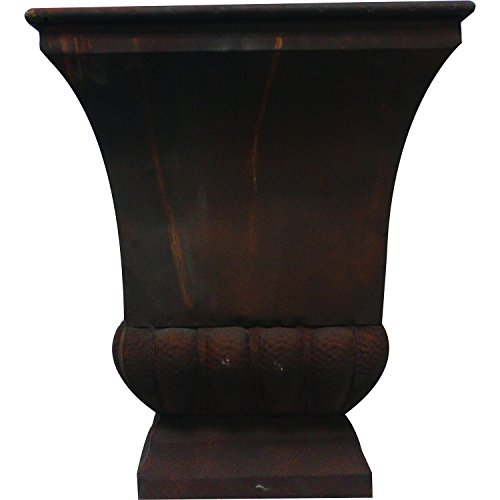 Gardman-8225-Large-Rustic-Metal-Urn-Planter-1575-Long-x-1575-Wide-x-18-High