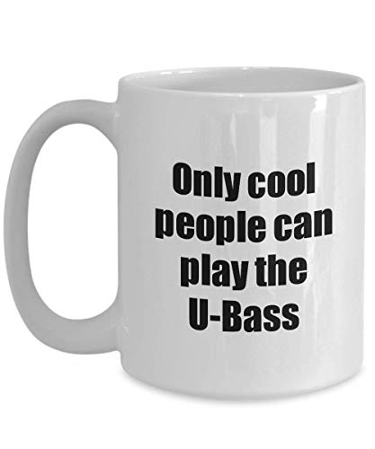 Used, U-bass Player Mug Musician Funny Gift Idea Gag Coffee for sale  Delivered anywhere in USA