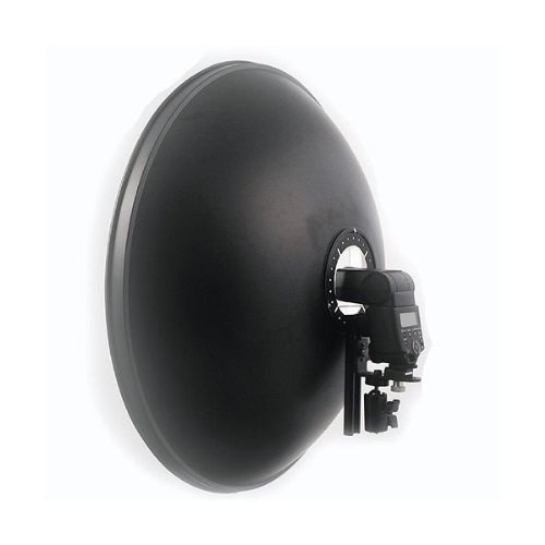 ePhoto A120Bracket 16-Inch Beauty Dish with Elastic Diffuser
