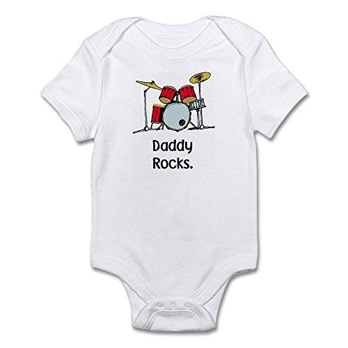 Dad Rocks Infant Creeper - 5