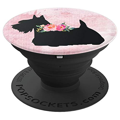 Scottish Terrier Scottie Dog  PopSockets Grip and Stand for Phones and - Scottish Iphone Terrier