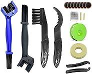 Mountain Bike Chain Cleaning Tools Kit, Bicycle & Motorcycle Crankset Chainwheel Gear Grunge Clean Brush,