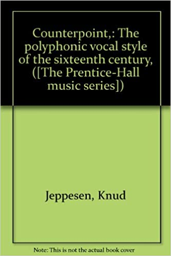 Download gratuiti di audiolibri in inglese Counterpoint,: The polyphonic vocal style of the sixteenth century, ([The Prentice-Hall music series]) PDF iBook PDB by Knud Jeppesen