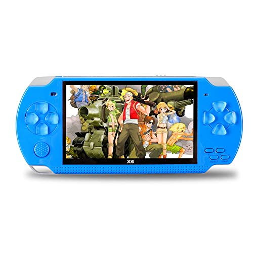 Womdee Handheld Game Console with Built in Games,Portable Video Games for Kids Retro,Built-in 500 Classic Video Games Player with 4.3