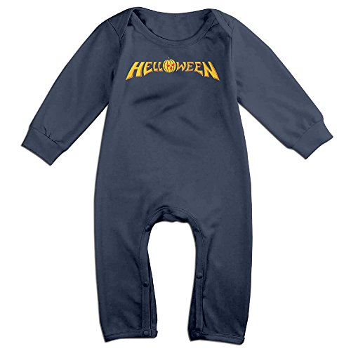 Unisex-baby Helloween Long Sleeve Jumpsuit Outfits Clothes
