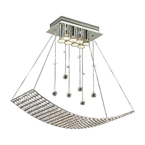 PLC Lighting 72155 PC Chandelier from Cereus Collection
