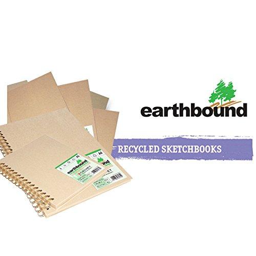 Earthbound Sketchbook - Daler Rowney Earthbound A4 Spiral Cachet Sketchbook